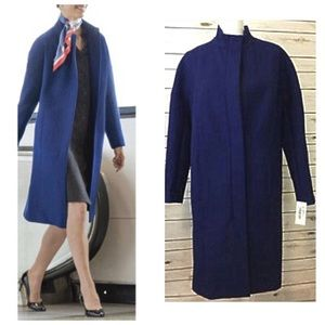 Mens Wearhouse Full Length Zip Up Coat Size 8 NWOT